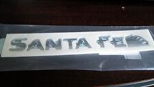 "Genuine Hyundai ""SANTA FE"" Rear Trunk Script letters Emblem(~06)"
