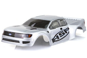 HSP 1/10 FlyingFish BL On-Road Painted Silver Body Shell
