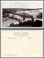 "RPPC PHOTO Postcard - Canada, Quebec Bridge ""2"" D25"