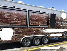 Wood Fired Pizza Food Truck Trailer -Concession Trailer custom built 22'