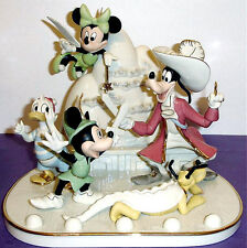 Lenox Disney Mickey Mouse & Friends Present A Day in Never Land Limited Edit New