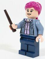 LEGO HARRY POTTER WIZARD NYMPHADORA TONKS MINIFIGURE - MADE OF GENUINE LEGO
