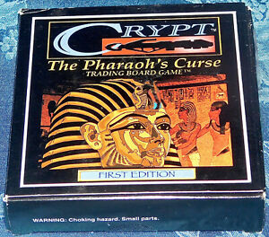 Line of Sight Boardgame Crypt The Pharaoh's Curse New Sealed Game NIB