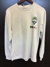Mitchell And Ness Seattle Sounders Longsleeve Tee Shirt L/S