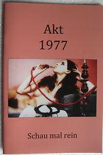 Magazin Akt Fotografie Foto Busen Männermagazin Akt & Kunst 1977 TOP Zustand