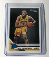 Talen Horton-Tucker 2019-20 Donruss Rookie Card RC #248 Los Angeles Lakers
