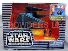 Micro Machines Star Wars Action Fleet TIE INTERCEPTOR w/ 2 Imperial Pilot NIP 96