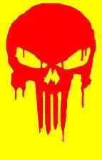 PUNISHER BLOODY SKULL Decal  Sticker  buy 2 get 1 free