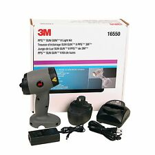 3M 16550  PPS SUN GUN II LIGHT KIT  (NEWEST VERSION WITH UPGRADED BATTERIES)