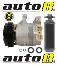 Air Conditioning Compressor & Drier to Fit Holden Commodore VT VU VX VY V6