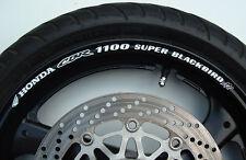 CBR 1100 SUPER BLACKBIRD XX WHEEL RIM STICKERS cbr1100