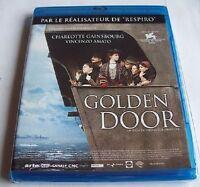 BLU RAY NEUF - GOLDEN DOOR / LA PORTE D'OR - CHARLOTTE GAINSBOURG - PRIX VENISE