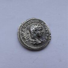 Denarius en Argent de l' Empereur Caracalla 211-217 Apr. J.-C.     ---    Rare !