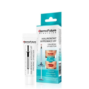 DermoFuture Hyaluronic Lip Filler with Collagen Clinically Certified 12ml