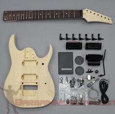 Bargain Musician - GK-022 - DIY Unfinished Project Luthier Guitar Kit