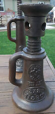 RAILROAD JACK VULCAN BRAND bottle Screw Jack 2 x 8 Vintage II & B Co.FARM JACK
