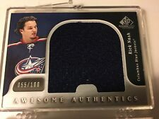 2005-06 SP Game Used Awesome Authentics RICK NASH 055/100