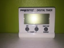 0421301 Presto® Electronic Digital Count Down Timer