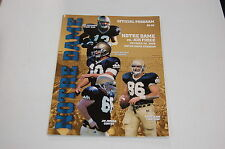 2000 Notre Dame - Air Force Football Program