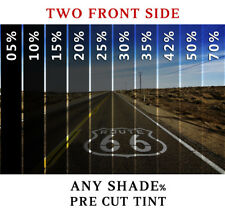 PreCut Film Front 2 Door Windows COMPUTER CUT Any Shade for all Mitsubishi Glass