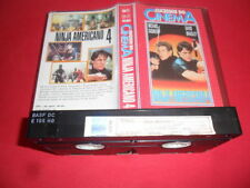 Ninja Action & Adventure PAL VHS Films