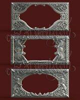 3 3D STL Hunting Frame Models CNC Router Carving Machine Artcam aspire Vcarve