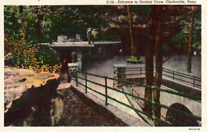 Clarksville, Tennessee, Dunbar Cave, Entrance - Postcard (S)