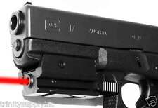 TRINITY Red Laser Fits Glock 17 accessories aluminum black.