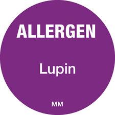 116137 - Daymark 25mm Circle Purple Allergen Lupin Label