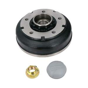 """250 x 40mm Brake Drum & Bearing for Ifor Williams Trailer 5 Stud 6-1/2"""" PCD"""