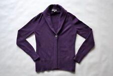 JOHN LEWIS 100% kaschmir cashmere Damen Pullover Womens Strickjacke Gr.12 violet