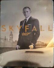SKYFALL - JAMES BOND - OOP RARE DELETED STEELBOOK BLU-RAY 007 DANIEL CRAIG