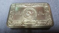 1914 WW1 Christmas Tin, with letter and medals + Free Postage