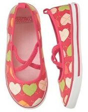 New Gymboree toddler girl shoes 6 Popstar Academy heart