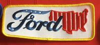 Ford USA advertising employee patch 2 X 4-3/4 #2447