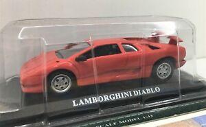 Delprado Collection* Lamborghini Diablo With Info Sheet*  In Case ** 1:43