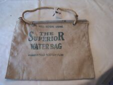 SUPERIOR WATER BAG 32-54 CHEVY FORD PONTIAC RAT ROD HOT STREET VINTAGE 33 34 35