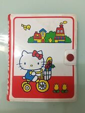 1976  Vintage Sanrio Hello Kitty Four in one case Notebook *Made in Japan