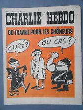 ►CHARLIE HEBDO N°52 - NOVEMBRE 1971 - REISER