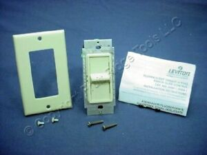 Leviton Ivory Fluorescent Mark X Philips Earthlight Dimmer Switch 6668-1I