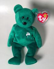 Ty Erin The Irish Bear - 1997 Beanie Baby - With Tags