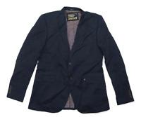 Superdry Mens Cotton Blue Blazer 2XL Chest (Long)