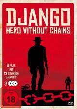 9 Filme DJANGO - HERO WITHOUT CHAINS Sartana ITALO WESTERN KLASSIKER DVD BOX Neu