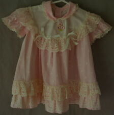 Baby Toddler Dress 24M Little Love Pink Ruffles Layers Lace Pageant S/S Floral