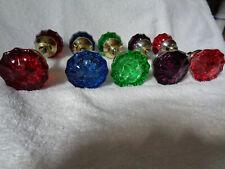 "5 Sets Vintage 1960""S Glass Doorknobs"