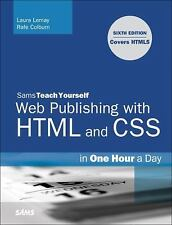 Sams Teach Yourself Web Publishing with HTML and CSS in One Hour a Day-ExLibrary
