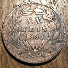 PIECE DE 20 REIS DU PORTUGAL 1884 (326)