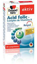 Folic Acid Complex Vitamin B, 30 tablets, Doppelherz