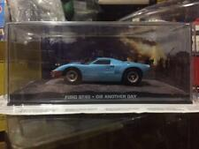 "HOTWHEELS / 1/43 Mag JAMES BOND 007 "" DIE ANOTHER DAY "" FORD GT40 - RARE"