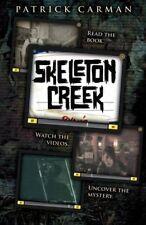 Complete Set Series - Lot of 4 Skeleton Creek books - Patrick Carman Crossbones